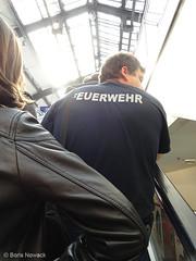 Feuerwehr per S-Bahn