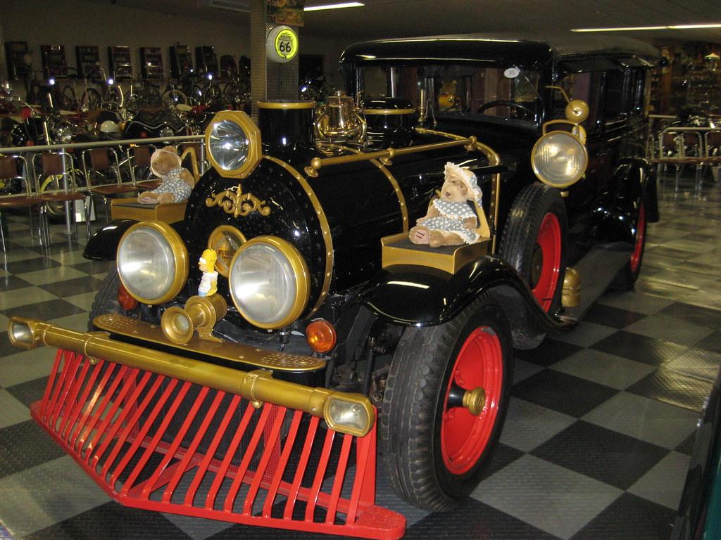 Paramount Pictures studio car