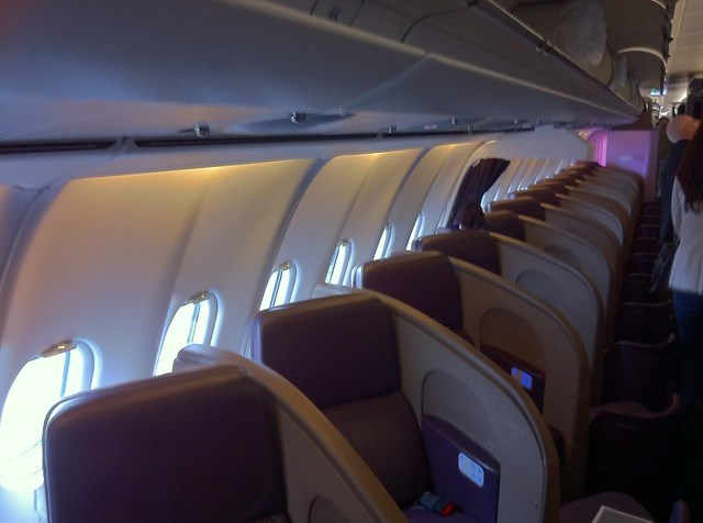 Virgin Atlantic Upper Class Cabin and Seats
