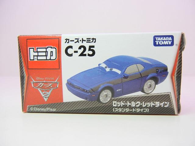 disney cars 2 tomica c-25 rod torque redline (1)