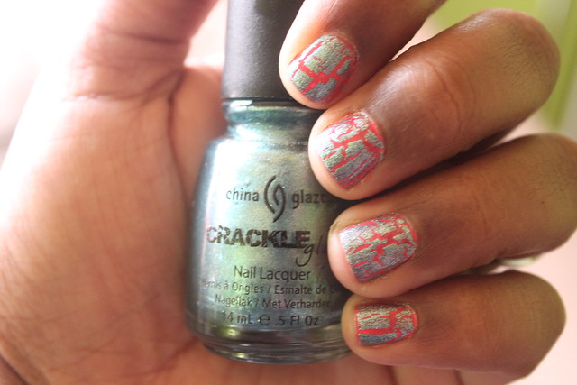 Crackle Manicure