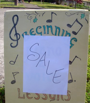 Beginning Sale Lessons