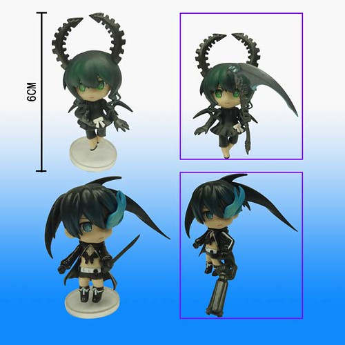 Bootleg Nendoroid Petit Black Rock Shooter and Dead Master