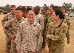 U.S. Marines, Australian Defence Force personn...