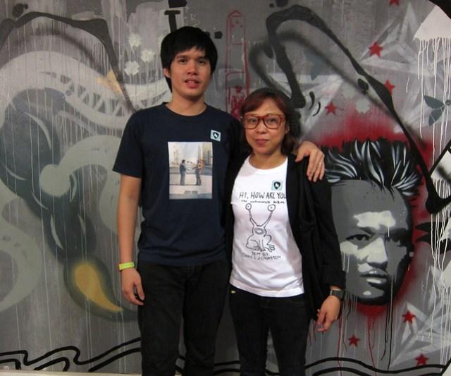 Diego and Ge Mapa
