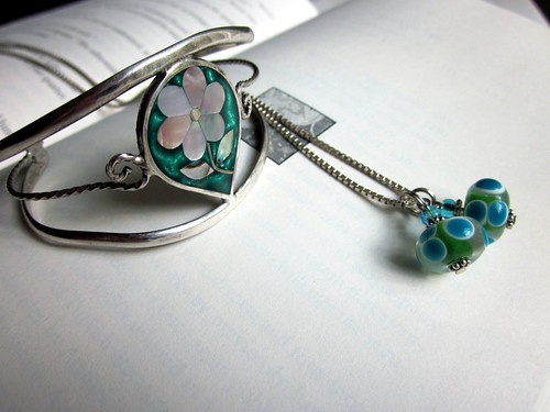glass bead pendants