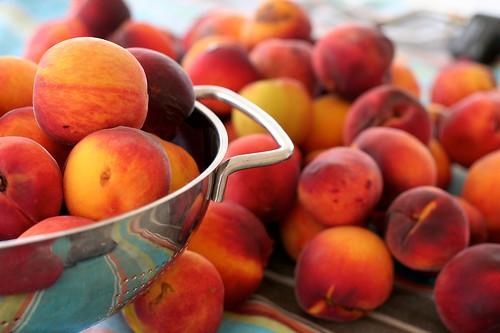 local peaches (ruston variety)