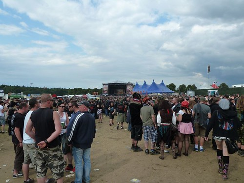 Sonsiphere Crowd Knebworth 2011