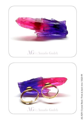 Amado Gudek At Dulcetfig - Crystal Rock Ring