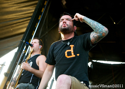 A Day to Remember @ Warped Tour 2011
