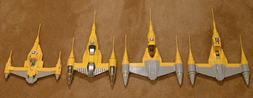 Naboo Starfighters
