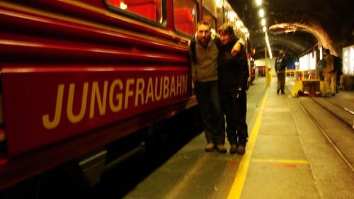 "Junto al ""Jungfraubahn"""