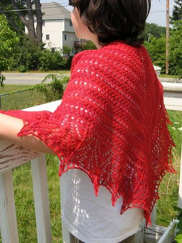 2547 Red Seas Shawl