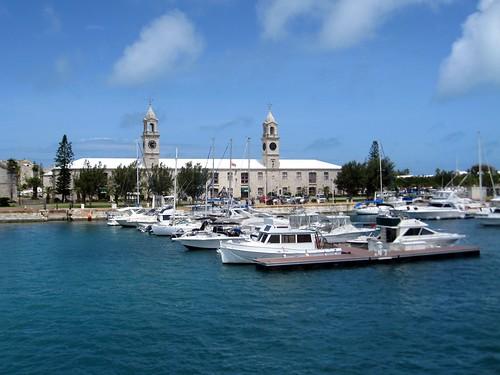 clocktower mall at the royal naval dockyard