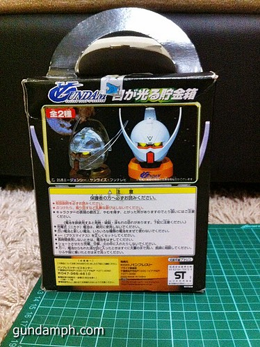 Turn A Gundam Head Display Coin Bank (7)