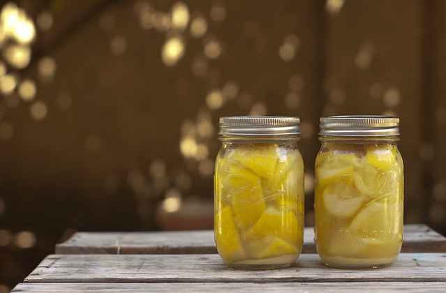 Preserved Lemons in Jars