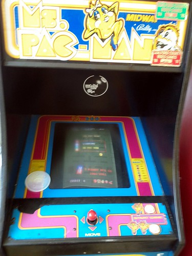 Old Games in a Burger Joint