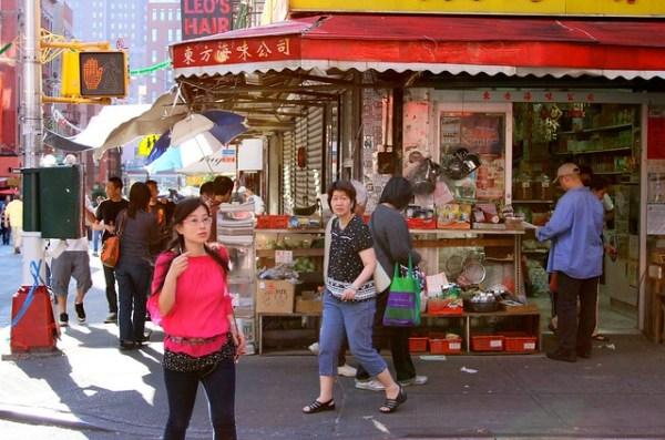 market, Chinatown
