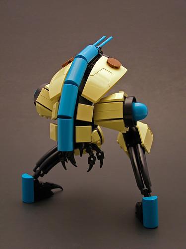 Bio-mechanical strider.