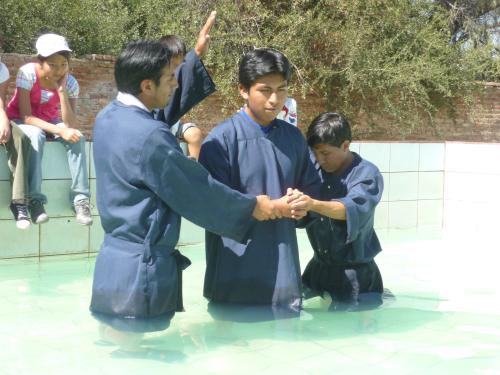 Another Baptism!