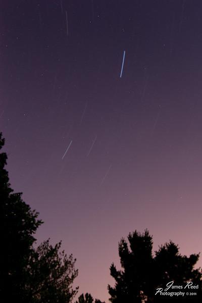 Twenty eight minutes worth of star gazing.