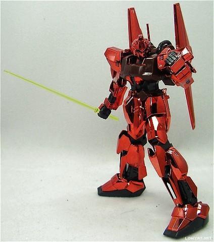 HG2004 {Metallic Red} Hyaku-Shiki  Bandai Museum Limited (1)