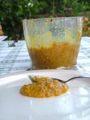 homemade mustard - senape fatta in casa