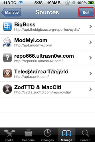 Cách Add Source Cydia - Cydia vn