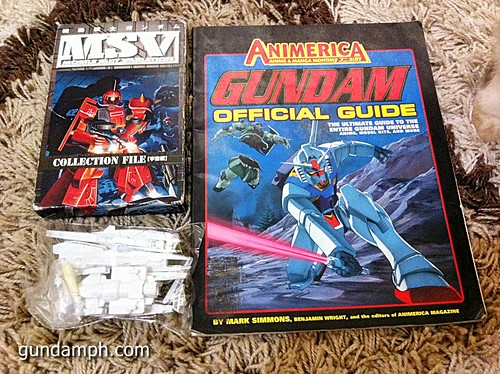 GN Sefer Animerica Gundam Official Guide MSV Collection (1)