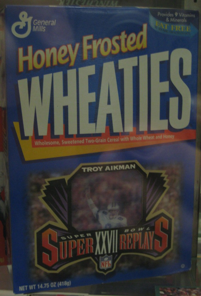 Honey Frosted Wheaties