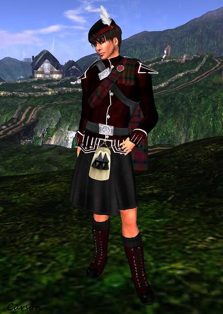 b[ELLE]issima! - Bagpiper Uniform