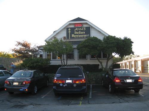 Exterior of Ann's Italian Restaurant, Hales Corners