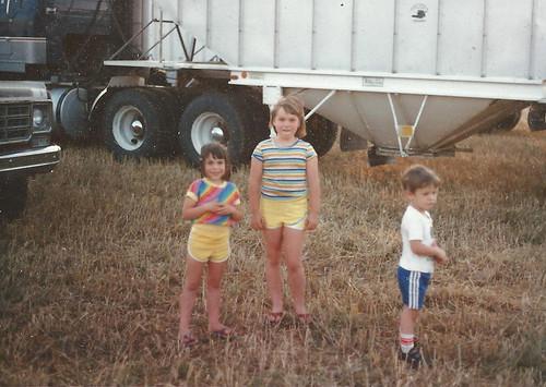 Me, my sister Tara and Ryan Campbell.
