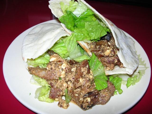 Beef & Feta Sandwiches