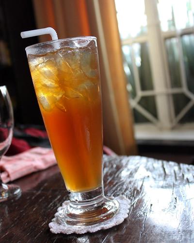 Iced Tea at Saramsam Cafe