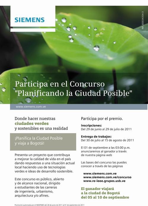 """Concurso """"Planificando la Ciudad Posible"""""""