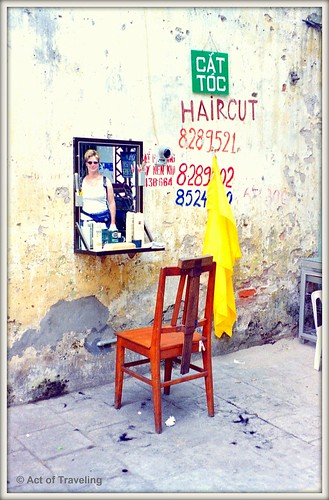 Haircut service in Hoi An