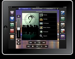 Savant Home Automation Control Media Room