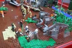 Star Wars Display Case - LEGO Booth at Comic Con - 9