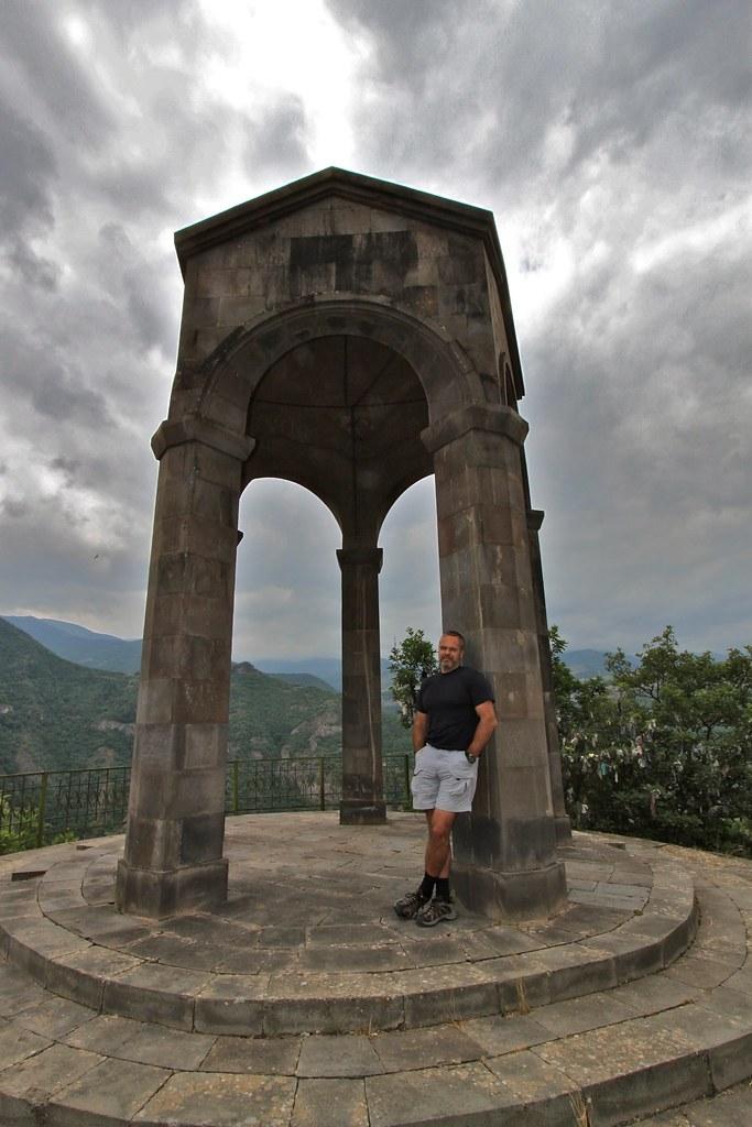 Marc au rocher de la mariée, Tatev, Arménie