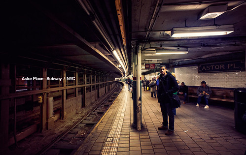 Astor Place - Subway / NYC by isayx3