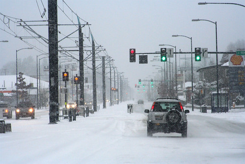 Seattle Snow by amorasin