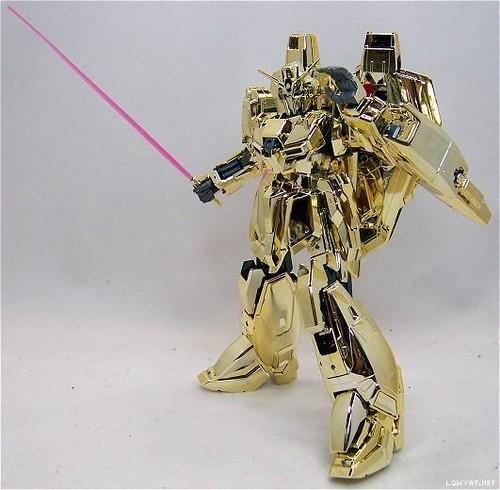 MG Zeta {Gold Coating - Gunpla Award 1st Prize} Year 2003  Very Rare & Limited (1)