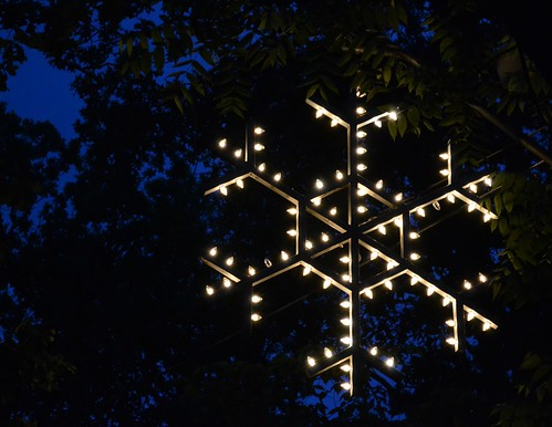 snowflake really lit up
