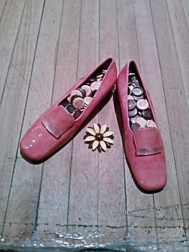 Pink Shoes by Karyn Ellis