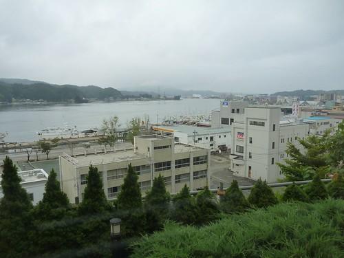 気仙沼プラザホテル, 陸前高田でボランティア(帰路) Japan Quake Volunteer Bus to Tohoku (northeastern) region