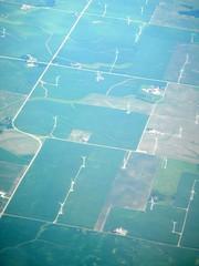 Wind Farm from Air