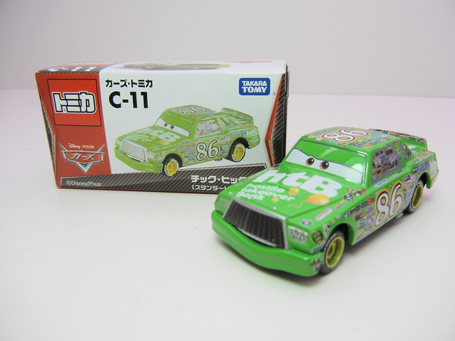 disney cars tomica c-11 Chick Hicks (2)