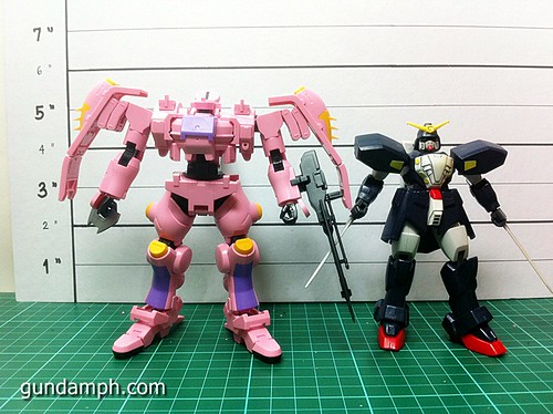 HG 144 Tieren Taozi Review OOB Build (32)