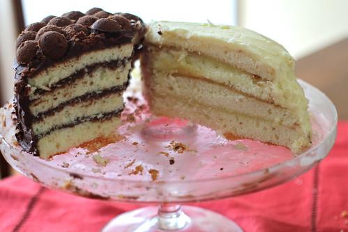 remains of doberge cake